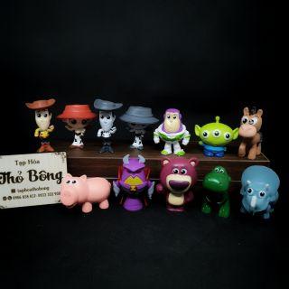 Set 10 mô hình nhân vật toy story {Hàng có sẵn}