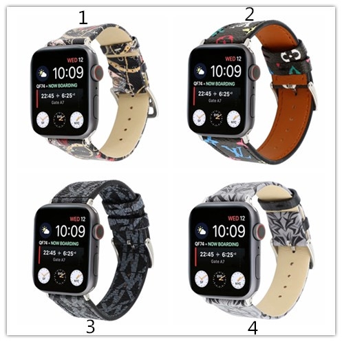 Applicable to Apple Watch strap 1/2 / 3 generation leather watch band