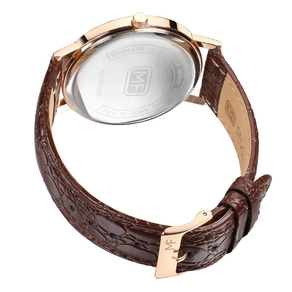 Đồng hồ nam Mini Focus chính hãng MF0108G.04C dây da trẻ trung ,tặng vòng tay phong