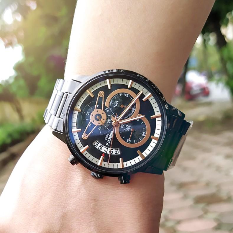 [Tặng vòng tay]Đồng hồ nam NIBOSI chính hãng NI2309-1.05E thời trang cao cấp