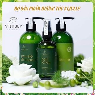 [VIJULLY COSMETIC]-Tinh dầu bưởi, dầu gội bưởi, kem xả dừa giúp mọc tóc, giúp tóc trở nên mềm mượt, phục hồi tóc hư tổn thumbnail