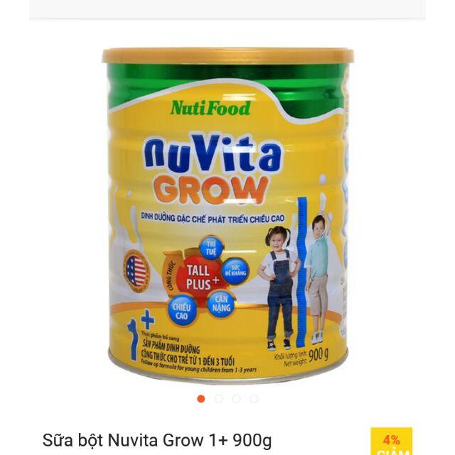 Nuvita Grow 1+ . 900g cho tre tu1_3 tuoi