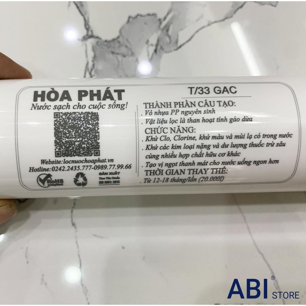 Bộ lõi lọc nước 56789 Koreastar, Ninomax đầy đủ chức năng( lõi lọc T33 GAC, Mineral, Oxygen, Alkaline, Post Carbon)