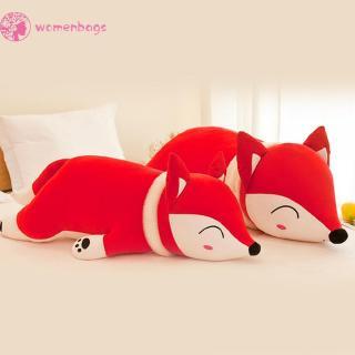 WB✿35/50cm Fox Shape Plush Pillow Suffered Cotton Toys for Girls Children Gift