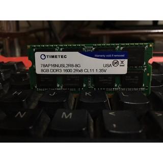 ram laptop 8G pc3 pc3l 1333 1600 thumbnail