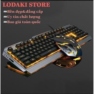 Bộ bàn phím cơ+Chuột Gaming có dây tích hợp chuyên dụng có đèn ned nền