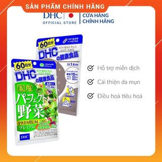 [60 Ngày] Combo Viên uống DHC Giảm Mụn – hot Trong 60 Ngày (Kẽm & Rau Củ) [CHO KIỂM HÀNG]