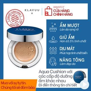 [Mã INCU50 giảm 50k đơn 250k] Phấn Nước KLAVUU Blue Pearlsation High Coverage Marine Collagen Aqua Cushion Spf50 PA+++ thumbnail