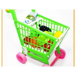 Đồ chơi xe đẩy siêu thị cho bé loại to, vừa trẻ đứng đẩy ( Hàng Việt Nam) cực đẹp và chắc chắn
