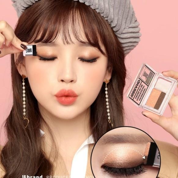 {CHÍNH HÃNG} Phấn mắt Hàn Quốc hai màu siêu tiện lợi 16 Brand Eye (PM16) - 3560743 , 1098580553 , 322_1098580553 , 350000 , CHINH-HANG-Phan-mat-Han-Quoc-hai-mau-sieu-tien-loi-16-Brand-Eye-PM16-322_1098580553 , shopee.vn , {CHÍNH HÃNG} Phấn mắt Hàn Quốc hai màu siêu tiện lợi 16 Brand Eye (PM16)