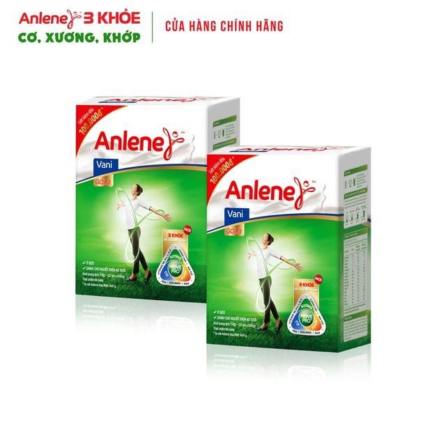 Combo 2 hộp Sữa Bột Anlene Gold Movepro 1Kg/hộp (trên 40 tuổi)