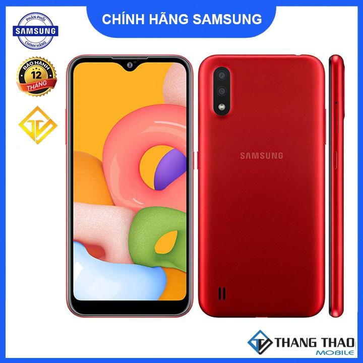 Điện thoại Samsung Galaxy A01 Snapdragon 439 - Hàng chính...
