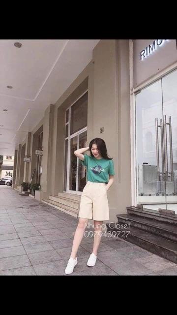 [Mã FAMAYWA giảm 10K đơn 50K] Quần Sóc Đũi Khuy Cao Cấp ( Kèm ảnh thật và Video)