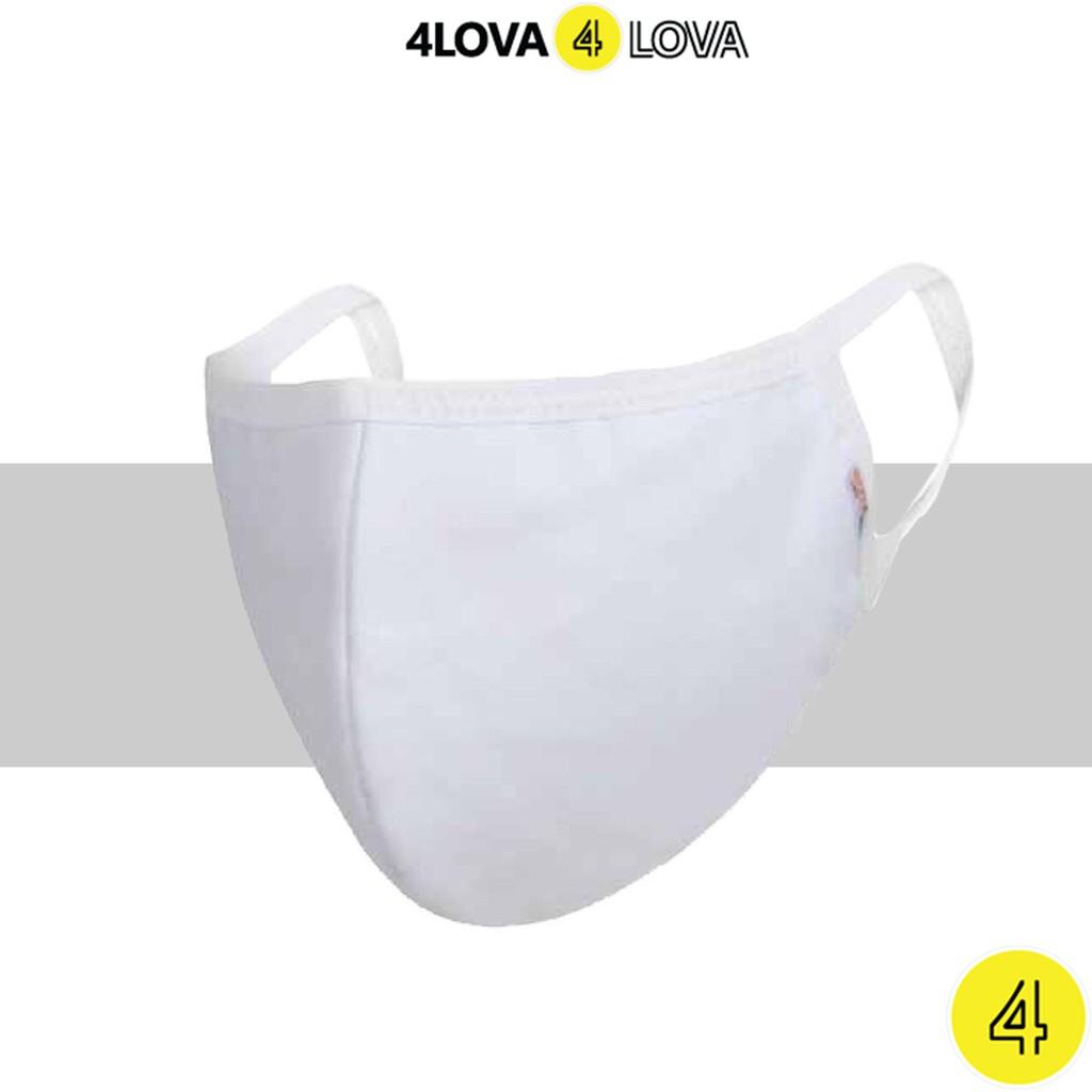 [Mã FAMAYFA giảm 10K đơn 50K] Khẩu trang vải unisex 4LOVA kháng khuẩn ngăn ngừa bụi bẩn