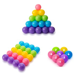 Aole Eco-friendly Baby 6.5cm Balls Pit Colorful Ocean Ball