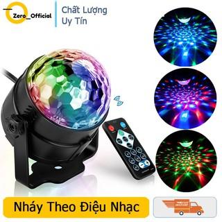 Đèn nháy led pha lê mini RGB,dải led chuyển động đa màu,đa hình,có điều khiển