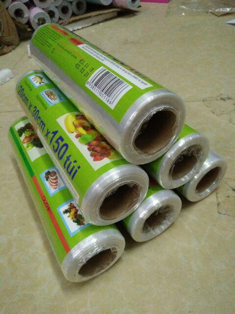 Combo 6 cuộn túi đựng thực phẩm HDPE An Lành