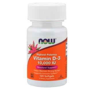 VITAMIN D3 Tăng Đề Kháng Now Vitamin D3 10000IU [120 - 240 Viên] - Nhập Mỹ - Muscle Fi thumbnail