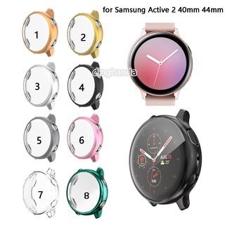 Vỏ bảo vệ mặt đồng hồ cho Samsung Galaxy Watch Active 2 40mm 44mm thumbnail