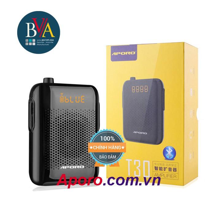 Máy trợ giảng Aporo T30 Bluetooth Mic không dây Loa Bluetooth chính hãng BH Aporo.com.vn