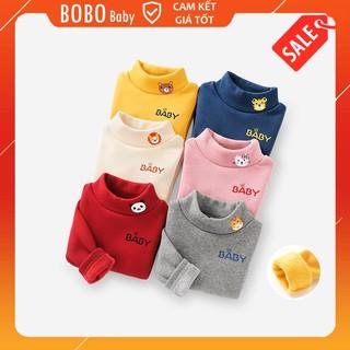 Yêu ThíchÁo Cổ Lọ Phối Hoạt Hình Baby Cho Bé Trai và Bé Gái Size 8-20kg A3P-01