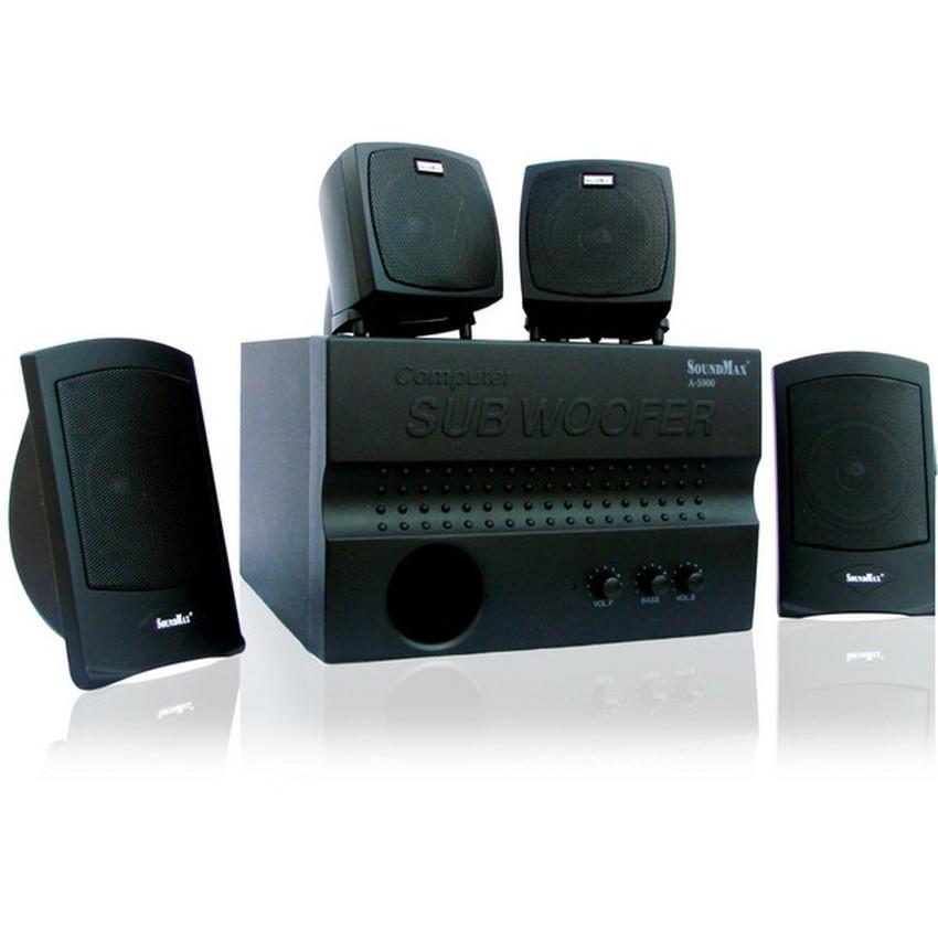 Loa máy tính Soundmax A-5000 4.1 (Đen)