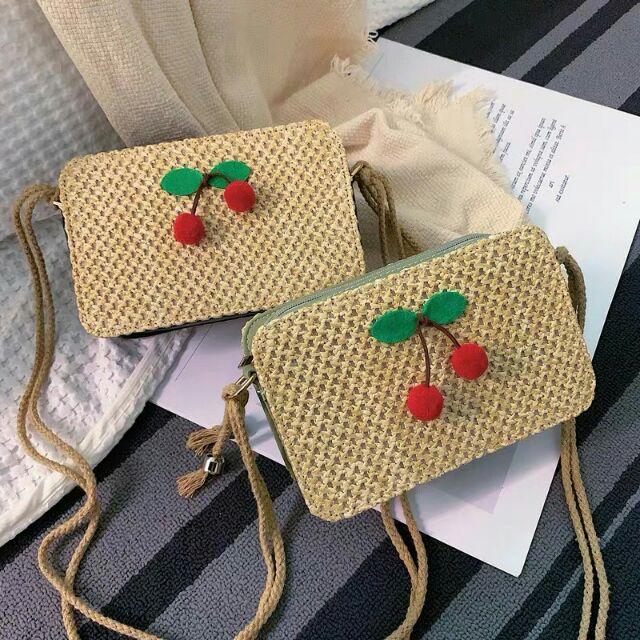 Túi đeo chéo cherry xinh lắm nha✏✏✏