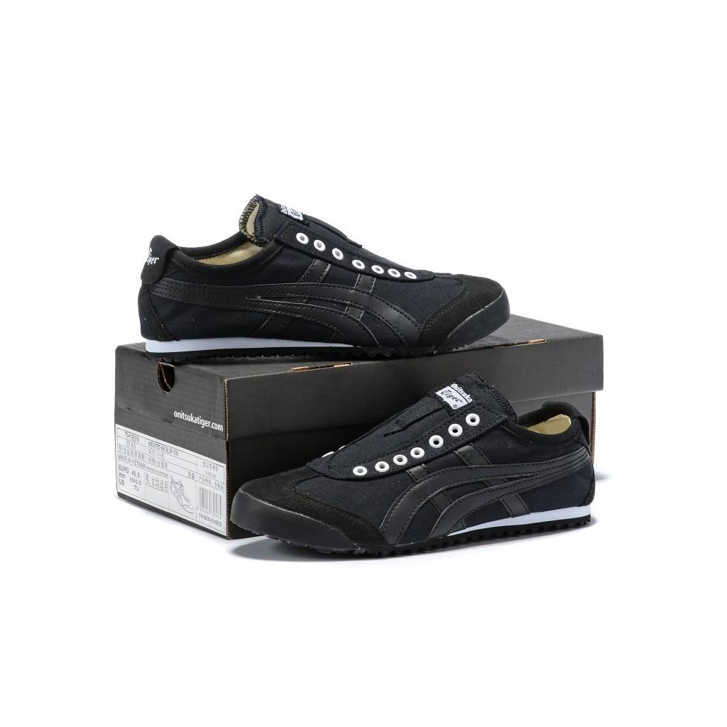 Original Asics tiger Canvas shoes flatshoes running shoes for men/women fashion196