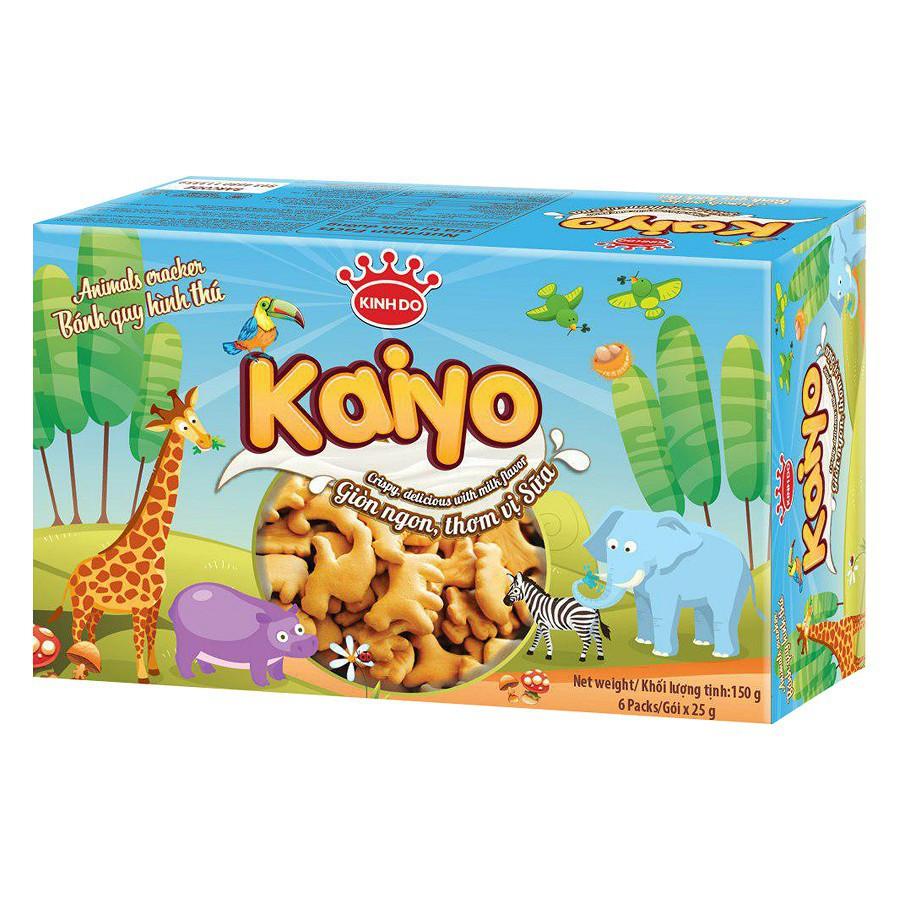 Bánh quy hình thú Kaiyo Kinh Đô 150g