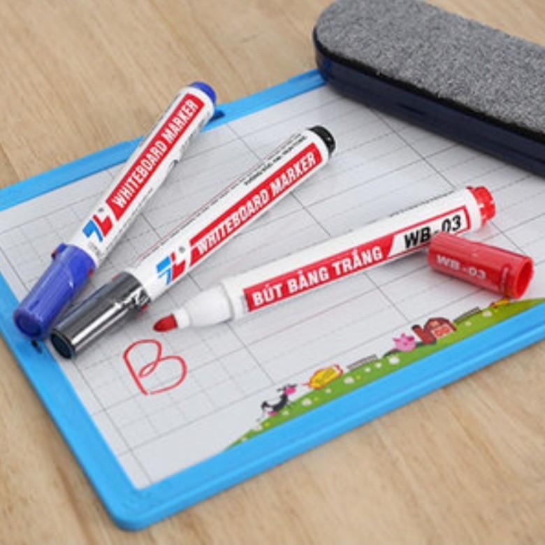 [Mã BM11COOL giảm 10% đơn bất kỳ] Bút lông bảng Thiên Long WB03 dùng viết bảng trắng.