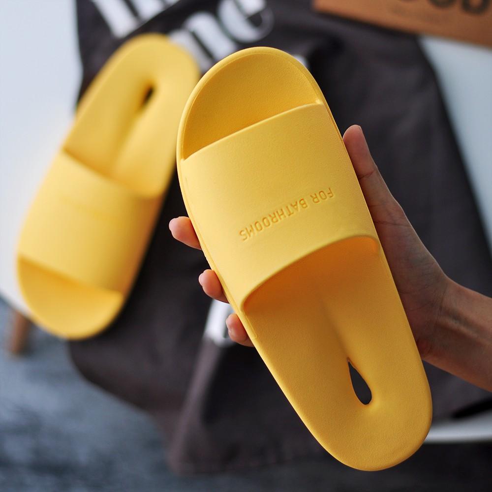 Dép nữ mùa hè- dép đi trong nhà - dép chống trơn trượt nhà tắm-  dép nam nữ- dép đế mềm