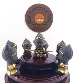 Tượng gốm mini tôn ngộ không gốm sứ mini trang trí tiểu cảnh hồ cá phụ kiện bể cá thumbnail