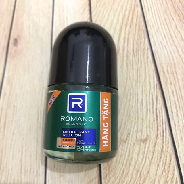 Lăn khử mùi Romano 15ml