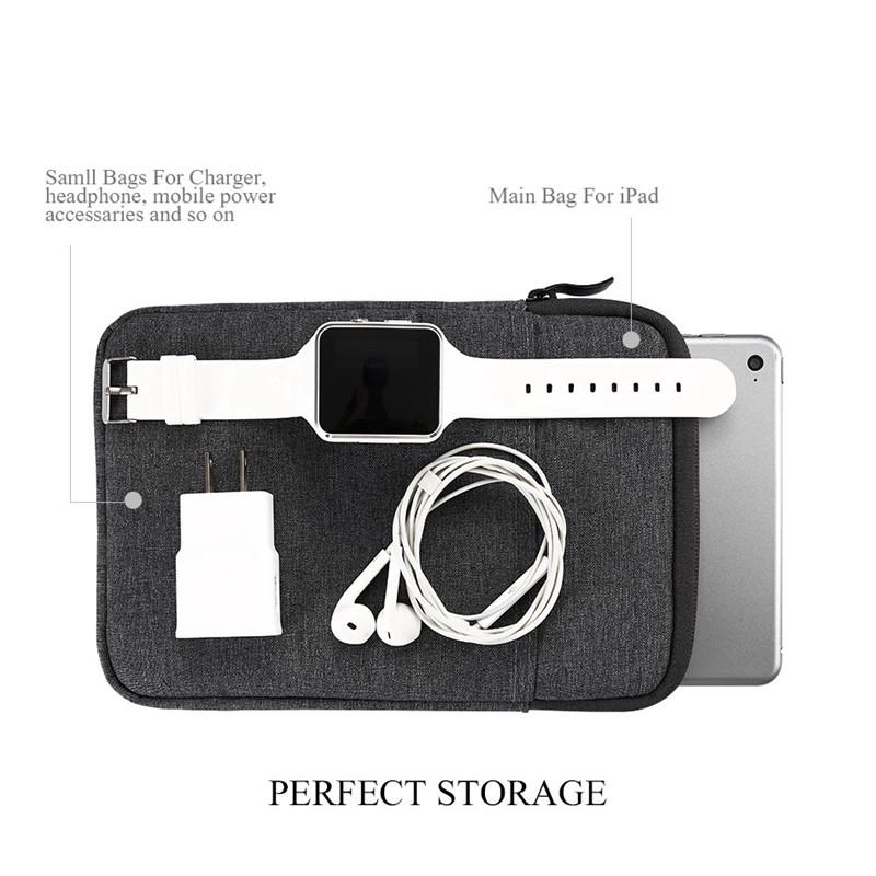 Túi đựng máy tính bảng chống nước chống va đập cho iPad Air 1/2/3 Mini 12345 Pro 9.7 10.5 11 iPad 2/3/4