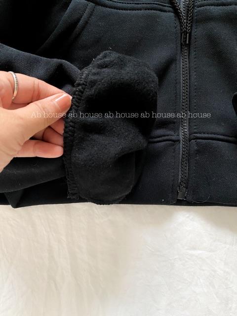 [Mã WASEPRN hoàn 20% xu đơn 99k] Áo Khoác Hoodie Simple dây kéo Zip Hoodie Ulzzang (From lửng dây kéo)