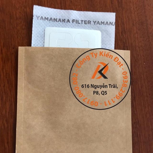 20 bộ Phin giấy lọc cà phê và túi giấy kraf đựng ngoài