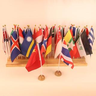 Bộ 36 CỜ VẢI các nước quốc gia trên thế giới – Giáo cụ quốc kỳ Montessori