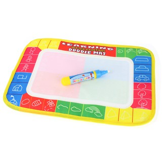 29x19cm Inkless Water Drawing Mat Doodle Mat Non-toxic Educational Toys for Kids