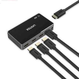 Bộ hub chia HDMI 1 ra 4 cổng 4K Unitek V1109A