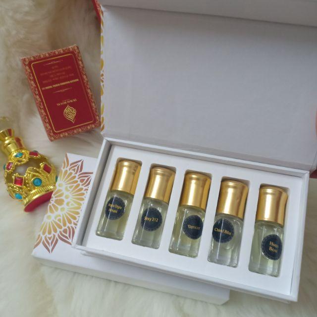 (GIÁ SỈ) 20 ml Set tinh dầu nước hoa Dubai hàng nguyên chất
