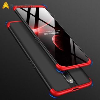 【Chất lượng tốt】 For OPPO F11 pro Ultra Slim PC Back Cover Non-slip Shockproof 360 Degree Full Protective Case