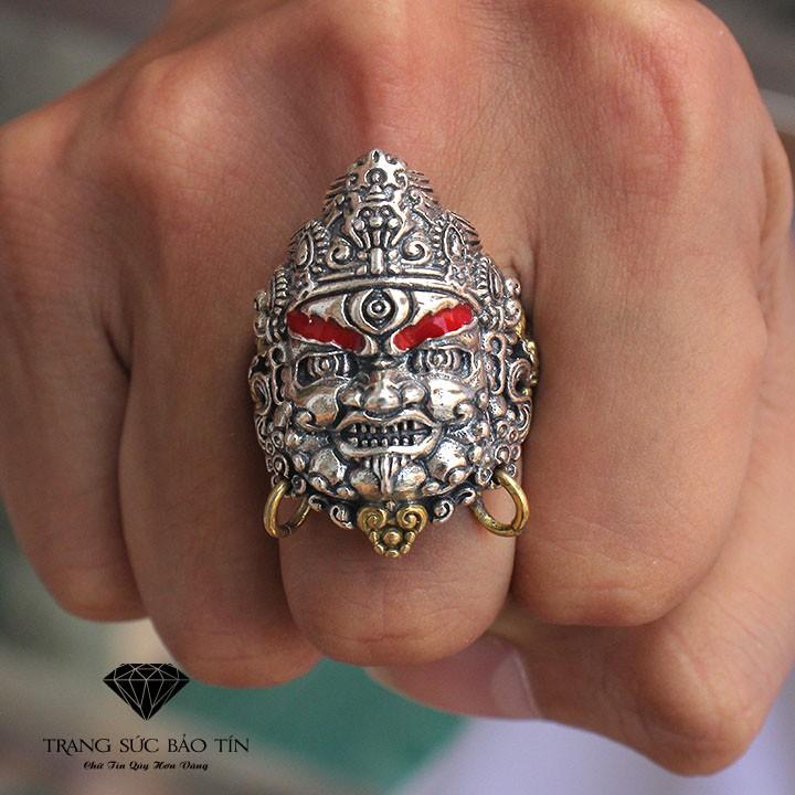 Nhẫn Bạc Nam Nhẫn Mặt Ngài Mahakala New Chất Liệu Bạc Thái - Bảo Tín - 10077715 , 1267623163 , 322_1267623163 , 1450000 , Nhan-Bac-Nam-Nhan-Mat-Ngai-Mahakala-New-Chat-Lieu-Bac-Thai-Bao-Tin-322_1267623163 , shopee.vn , Nhẫn Bạc Nam Nhẫn Mặt Ngài Mahakala New Chất Liệu Bạc Thái - Bảo Tín