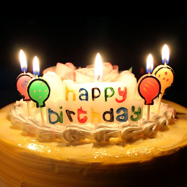 Nến chữ happy birthday | Shopee Việt Nam
