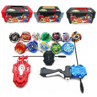 Portable Beyblade Burst Box 12 in 1 Red Carrying Case for Spinning Top Toys