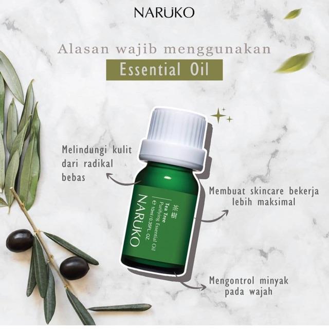 Tinh Dầu Ngăn Ngừa Và Làm Giảm Mụn Viêm, Sưng Tấy Naruko Trà Tràm Tea Tree Purifying Essential Oil (10ml)