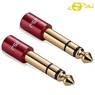 Jack chuyển đầu 3 ly (3.5mm) cái ra đầu 6 ly (6.5mm) đực JSJ T315  thiết kế tinh tế, gia công sắc sảo, đầu nối mạ vàng