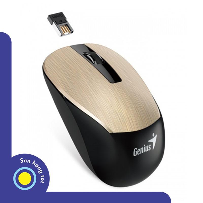 Chuột không dây hãng Genius NX7015 (Màu Gold)