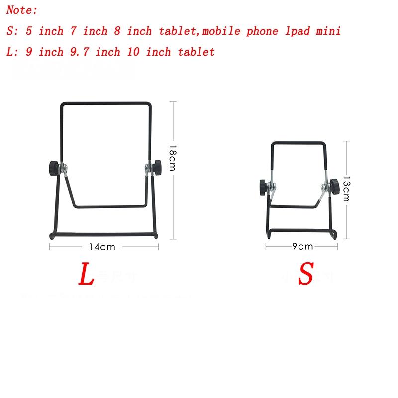 Giá Đỡ Điện Thoại / Máy Tính Bảng Để Bàn Bằng Kim Loại Tùy Chỉnh Tiện Dụng Cho Ipad Iphone