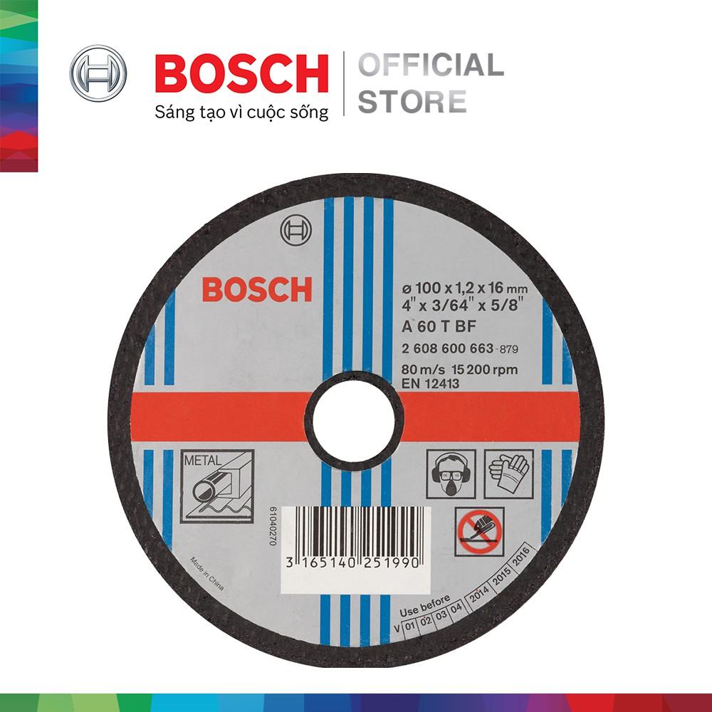 Đá cắt Bosch 100x1.2x16mm (sắt)