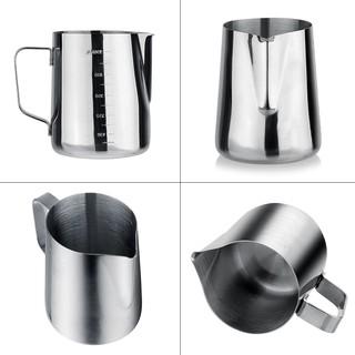 Cốc đánh sữa cà phê Espresso 1000ml chất liệu thép không gỉ - hình 4